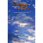 To Achieve Your Dreams Remember Your ABCs 2nd Edition Poster With Blue Sky Background